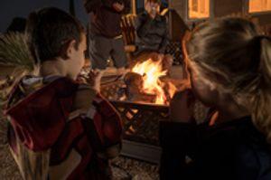 Make memories around our firepit!