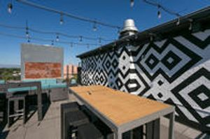 Gathering Space on Roof Top at Dahlia