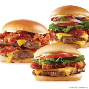 Wendy's Baconator®, Jr. Bacon Cheeseburger and Big Bacon Classic®