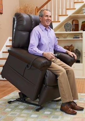 Pride Mobility Electric Recliner Seat Reclining Lift Chair