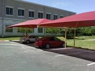 We offer a variety of carport and parking lot shade options.