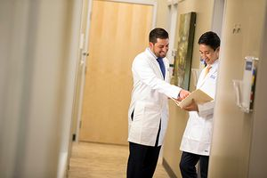 Dentists with Aspen Dental carefully review patient charts and work together to provide quality dental care, every day.