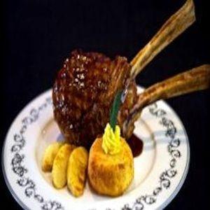 Five star restaurant Christinis - Veal Chop