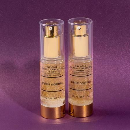 Prep your skin so your foundation goes the distance with our 24K Gold Firming Foundation Primer!