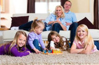 If you have kids in the home, you need a carpet cleaning more than most!