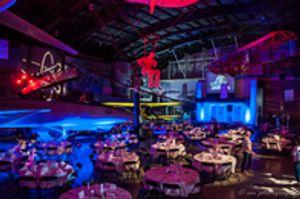 TASM Tulsa Air & Space Museum Event Lighting  Integrity Lighting