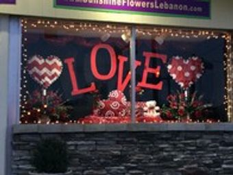 Love is in the air here at Sunshine Flowers and Gifts!