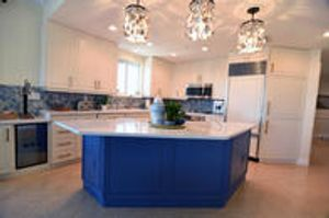 Try adding a pop of color to your kitchen or bathroom! Our custom color finishes are sure to change the look of you home!