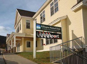 The exterior of iSport and Killington Mountain Clinic