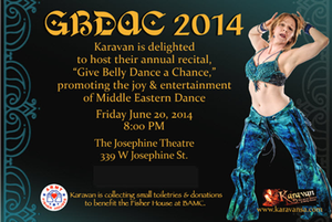 """June 20, 2014 """"Give Belly Dance A Chance"""" - Friday Recital"""