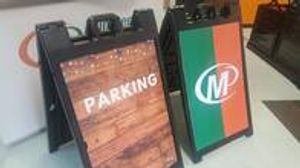 Minuteman Press San Antonio Sidewalk Signs