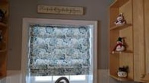 Beautiful roman shades for your kitchen