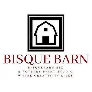 Bisque Barn Pottery Paint Studio Logo