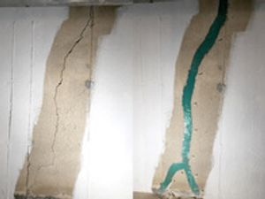 Make sure your basement is safe and dry by immediately fixing foundation cracks.