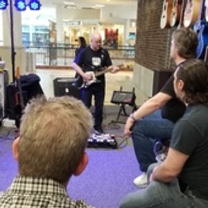 EHX  artist at our new store location in Colonie Center