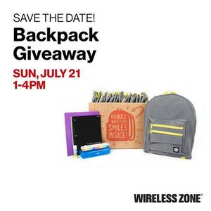 Join us for our backpack giveaway event!