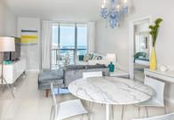 Cozy, large 1/1 condo. Well maintained & equipped. You can see the  bay from any window