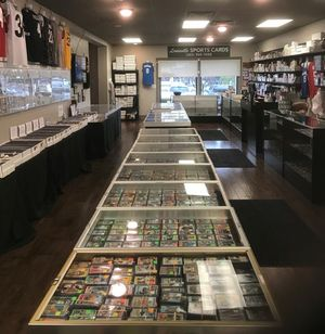 Stop by our sports card store today!