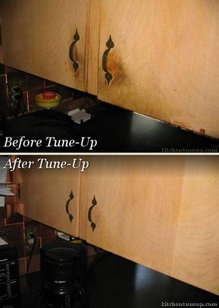Our unique, comprehensive wood reconditioning process makes woodwork look like new.