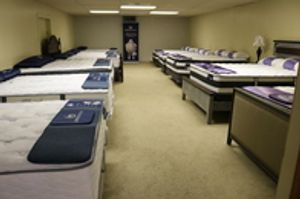 We offer a great selection of name-brand mattresses like Serta & others
