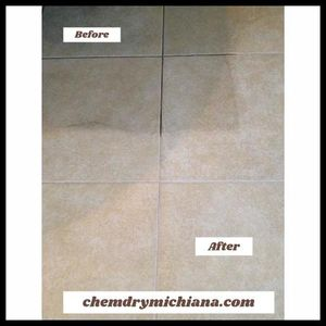 Tile & Grout Cleaning by Chem-Dry of Michiana. Tile Cleaning removes 98.6% of the bacteria from your tile and grout.
