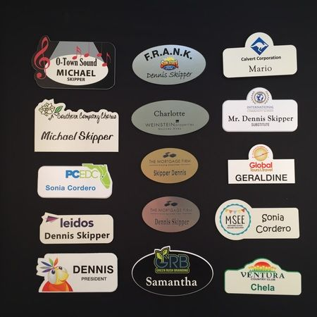 Custom Full Color Name Badges