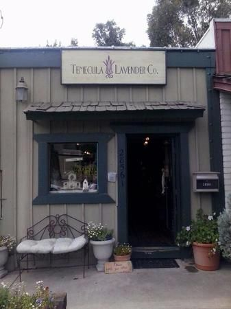 Our lavender gift shop at  28561 Old Town Front St Temecula, CA 92590