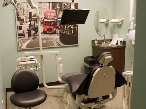One of our treatment spaces.