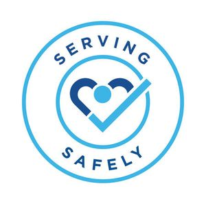 Nothing is more important to us than your health and safety. Our Serving Safely commitment means you can feel confident we're going above and beyond to put your safety first, no matter what.
