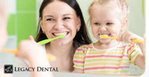 Brushing at a young age will help as they grow up.