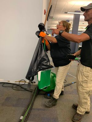 Our team of highly trained commercial restoration technicians will get your business back in business after a water loss occurs.