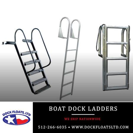Boat Dock Ladders Austin, Texas. Contact Dock Floats Ltd in Austin for your FREE phone consultation: 512-266-6035