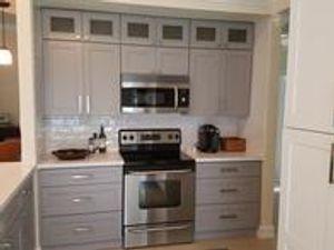 Storm Grey Kitchen Cabinets https://www.cabinetdiy.com/grey-kitchen-cabinets