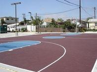 Basketball court installation San Diego