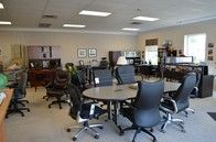 We are your local source for office furniture and equipment.