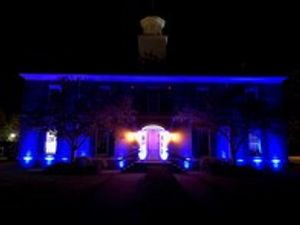 Light Up Columbus offers customized lighting to enhance entranceways, towers, columns, and other edifices such as bridges or monuments through our architectural lighting displays.