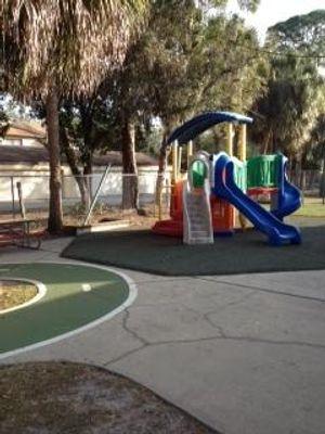 Preschool, Prekindergarten and School Age Playscape