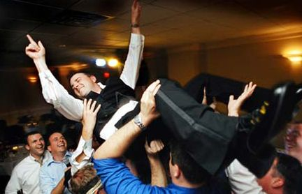 Wedding Receptions are fun!...but don't get carried away!
