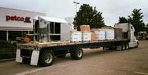 Thanks to New Age Transportation for our flatbed delivery this morning.