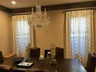 Contact our custom window treatment design experts today for all your custom drapery needs.