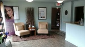 The waiting area at our clinic