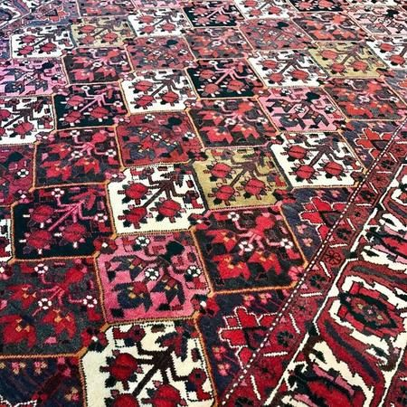 Bakhtiari rugs have been found around the world since the early 19th century. These rugs are mostly inspired by a garden. The Khesti, an established garden motif, is perhaps the most well-known rug design.