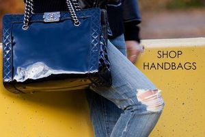 We have a large selection of handbags to choose from!