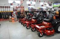 Riding Mowers from Top Manufacturers like Ryan, Hustler, Ferris, Echo, and more!