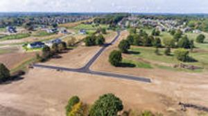 Aerial view of our new Jackson Twp home development!