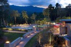 Topnotch Resort at dusk