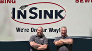 At InSink, our plumbers focus on home service and repair, not plumbing construction.
