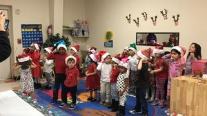 Christmas Party at Teeter Toddler!
