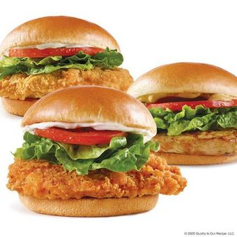 Wendy's chicken sandwiches: homestyle, grilled and spicy