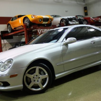 I think this is gonna be my demo for the next week.  Don't imagine it will last long. 2005 Mercedes CLK500